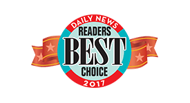 Daily News Readers Best Choice Award 2017 - The Law Office of Kenneth L. Snyder